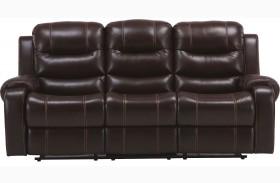 Brahms Mahogany Dual Reclining Sofa