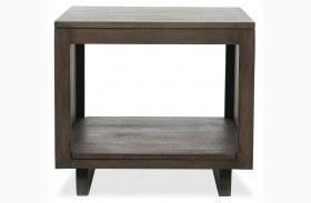 Messina Slat End Table