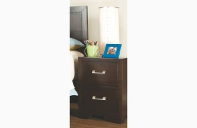 Smart Solutions Merlot Night Stand