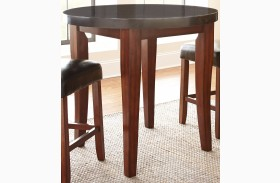 Granite Bello Round Counter Height Table