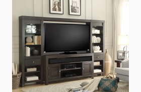 Monterey Graphite Mon Entertainment Wall Unit
