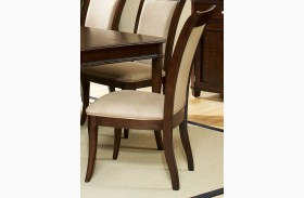 Marseille Merlot Cherry Dining Side Chair Set of 2