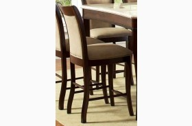 Marseille Merlot Cherry Counter Chair Set of 2