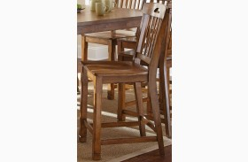 Menton Medium Oak Counter Chair Set of 2