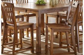 Menton Extendable Rectangular Counter Height Dining Table