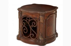Essex Manor Barrel End Table