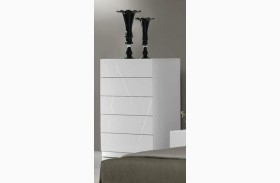 Naples White Lacquer Chest