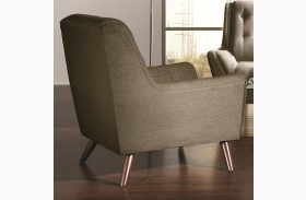 Natalia Dove Grey Living Room Chair