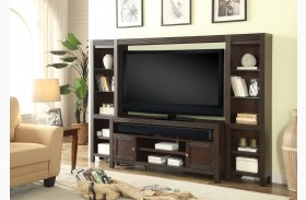 Newport Sherry New Entertainment Wall Unit