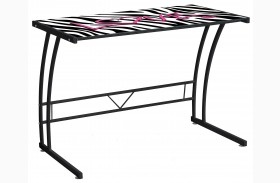 Zebra Love Graphic Top Sigma Desk