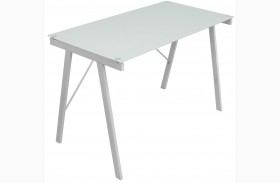 Exponent White Office Desk
