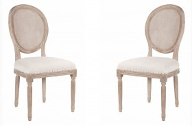 Oliver Stone Wash Dining Chair Set of 2