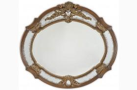 Oppulente Sienna Spice Sideboard Mirror