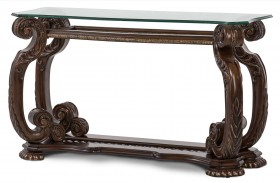 Oppulente Sienna Spice Sofa Table