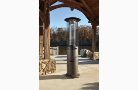 Hatchlands Brown Outdoor Patio Heater