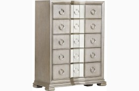 Couture Silver Drawer Chest