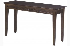Casual Traditions Walnut Sofa Table