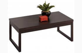 Athena Dark Chocolate Cocktail Table