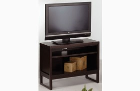 Athena Dark Chocolate TV Stand