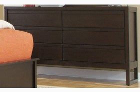 Athena Dark Chocolate Drawer Dresser
