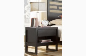 Athena Dark Chocolate Nightstand