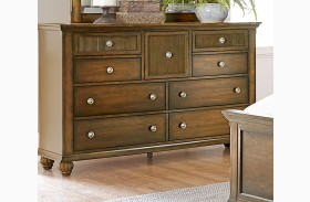 Cotswold Grove Root Beer Drawer Dresser