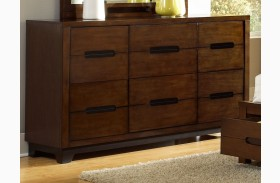 Portland Nutmeg Drawer Dresser