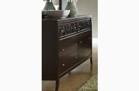 Links Chocolate Drawer Dresser