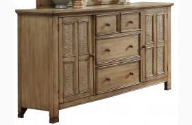 Kingston Isle Sand Door Dresser