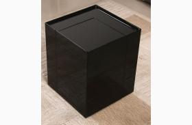 P205B Black Gloss Modern End Table