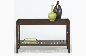 Jupiter Key Dark Cherry Sofa/Console Table