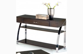Showplace Cappuccino Sofa/Console Table