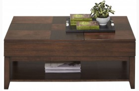 Daytona Regal Walnut Lift-Top Cocktail Table