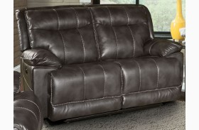 Phoenix Flint Dual Power Reclining Loveseat