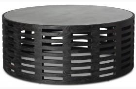 Palmer Mink Round Coffee Table