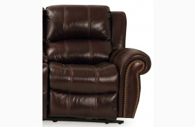 Poseidon Cocoa RAF Power Reclining Chair