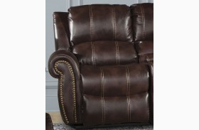 Poseidon Russet LAF Power Reclining Chair