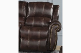 Poseidon Russet RAF Power Reclining Chair