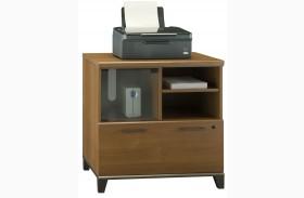 Achieve Warm Oak Lateral File/Printer Stand