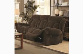Reige Motion Chocolate Reclining Sofa