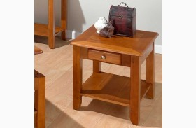 Sedona Oak End Table