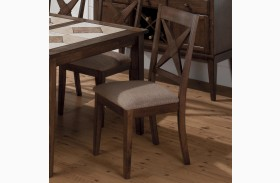 Tucson Nova X Back Upholstered Dining Chair Set of 2