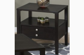 Hamilton Rich Dark End Table