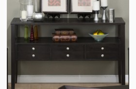Hamilton Rich Dark Sofa Table