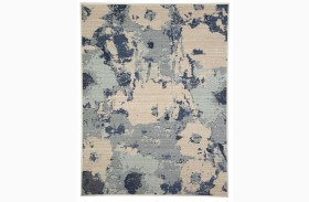 Lizette Blue Medium Rug