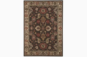 Stavens Brown Large Rug