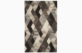 Scoggins Black and White Medium Rug