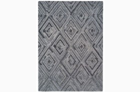 Woven Gray Medium Transitional Rug
