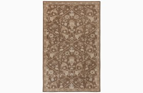 Vintage Brown Large Rug
