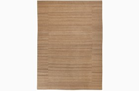 Flatweave Tan Medium Rug